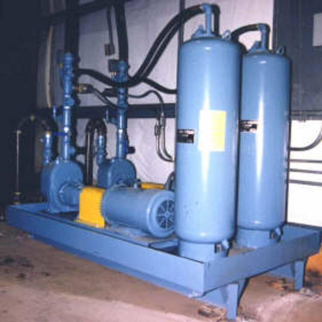 Oil Pump-Back System