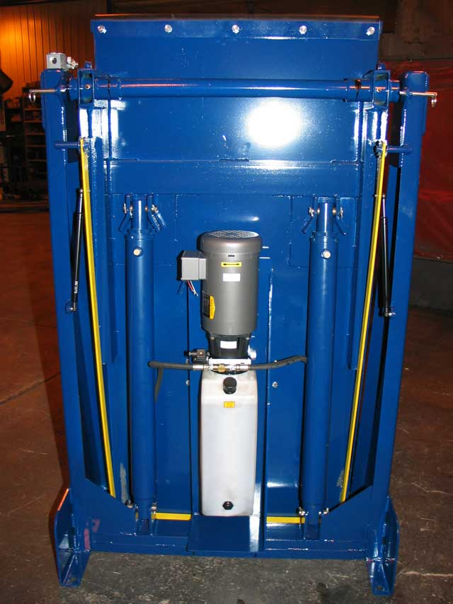 Self-contained hydraulic drive unit