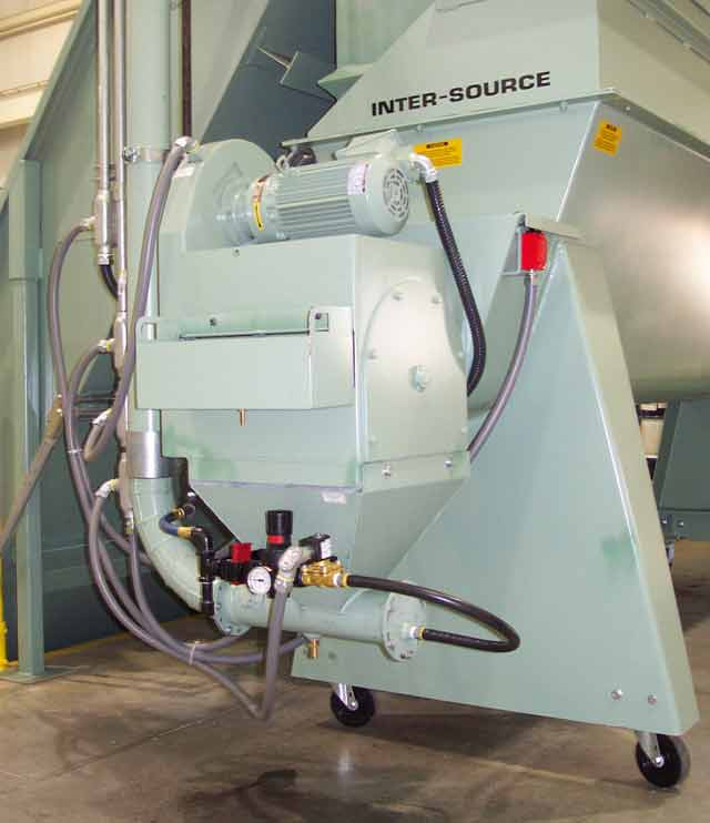 Rotary Shredder Sizing and Metering