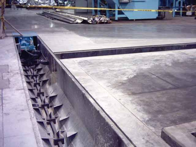 Push bar conveyors