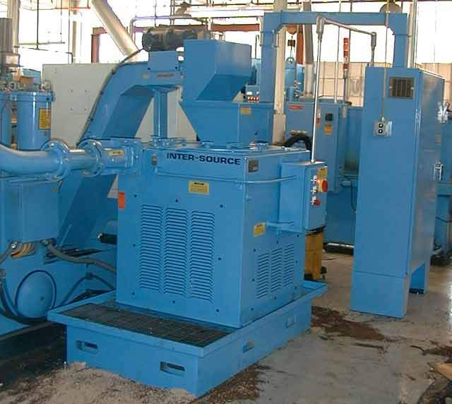 20″ wringer and machining center