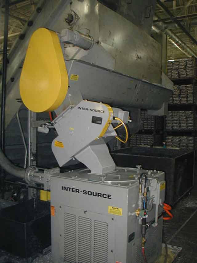 Parts separator / shredder / wringer