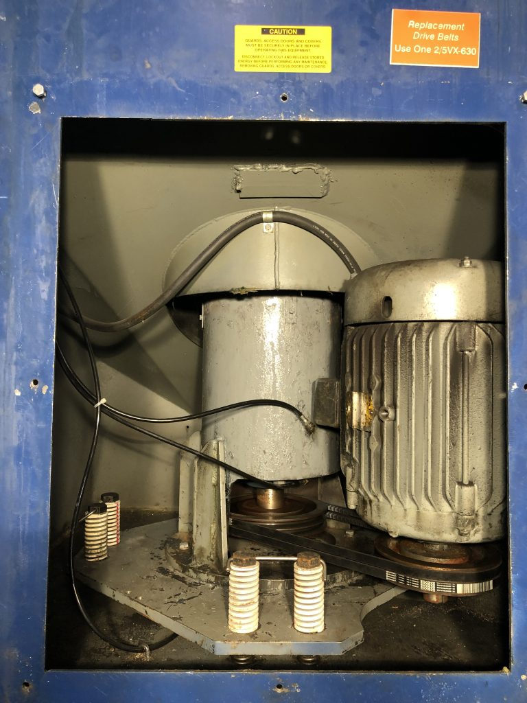 20 HP, 1760 RPM Motor With No Hours After Rebuild